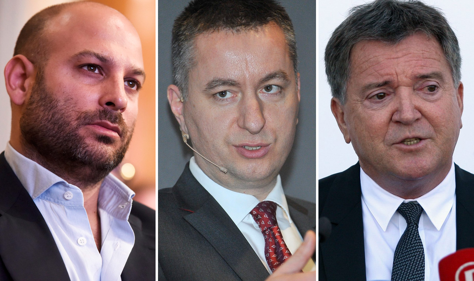 Davor Lukšić, Fabris Peruško, Ante Vlahović