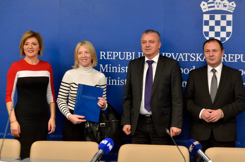Ana Mandac, Andreja Jukičić, Darko Horvat i Dragutin Ranogajec
