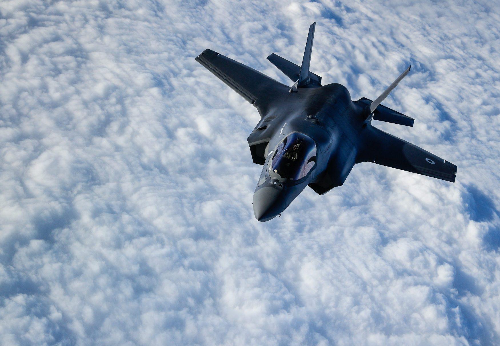 Ilustracija: F-35B RAF-a