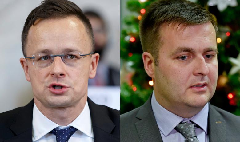 Péter Szijjártó i Tomislav Ćorić
