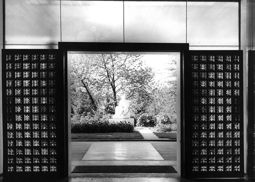 Pogled iz interijera Vile Zagorje u vrijeme Tita