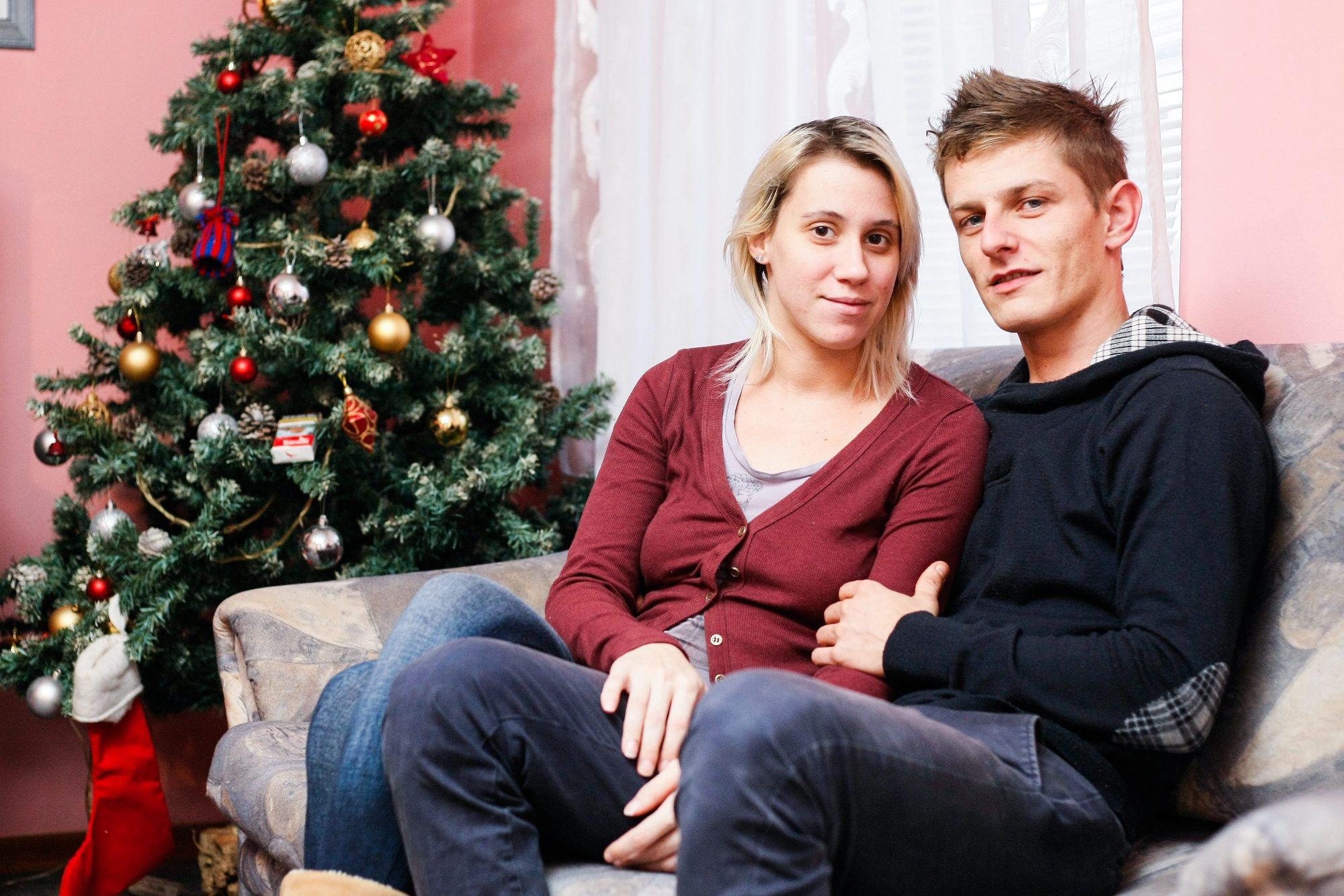 Saša s djevojkom Ivanom