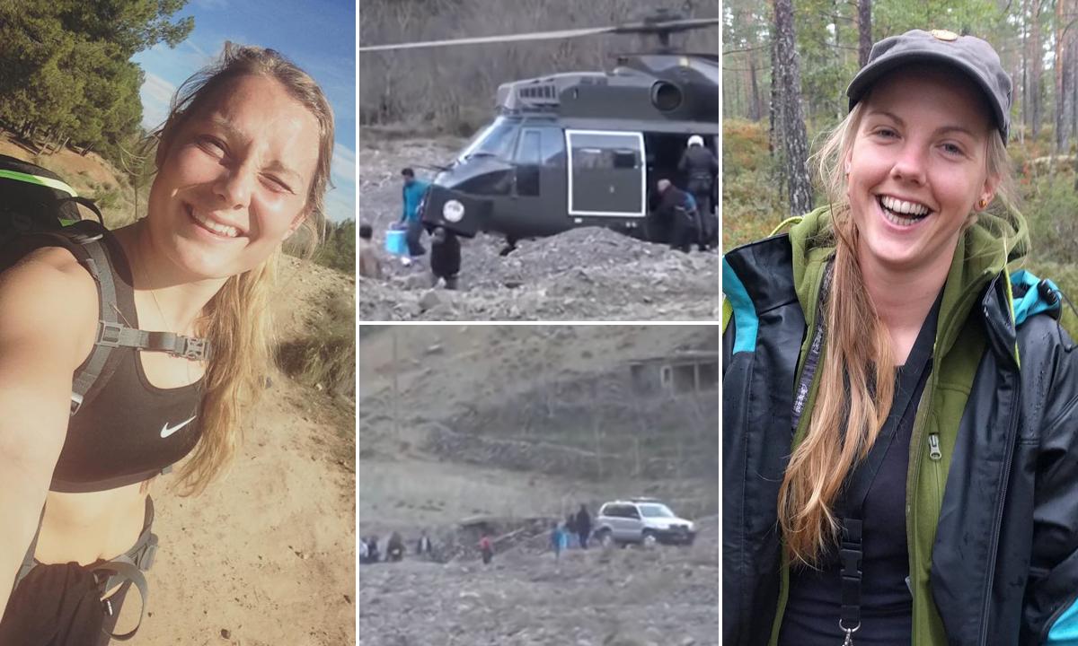 Louisa Vesterager Jespersen; dolazak policije i drugih na mjesto ubojstva; Maren Ueland