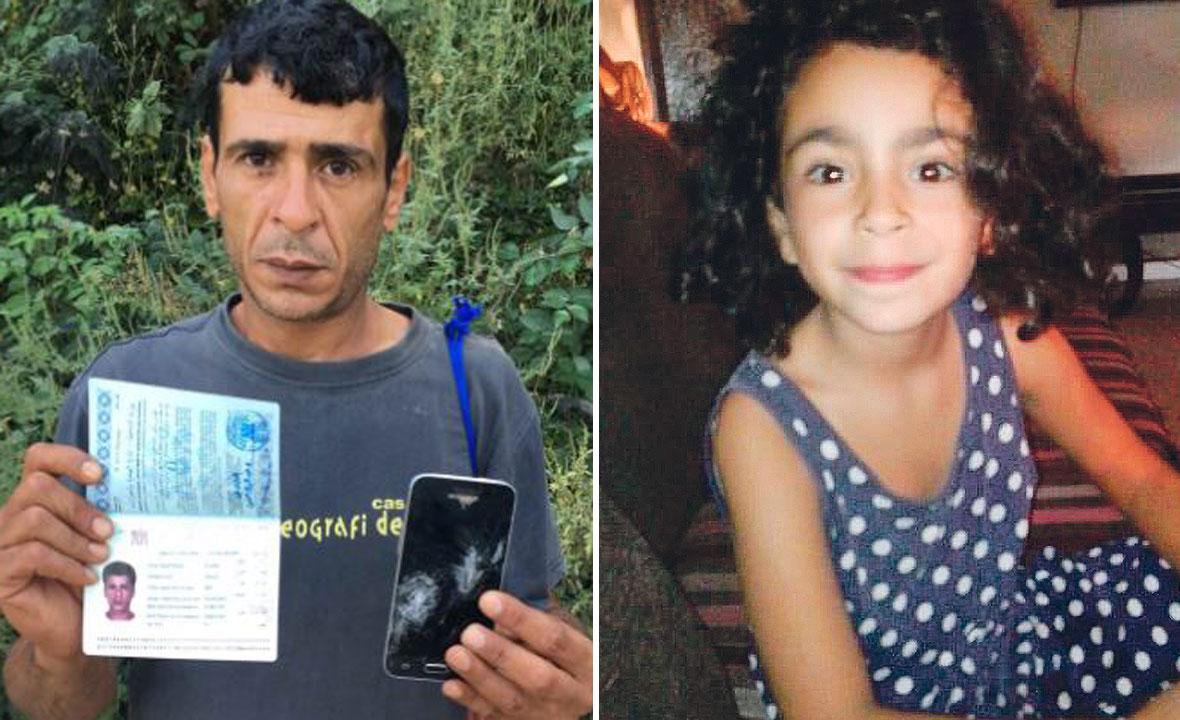 Wadie Ghazi Sineid; petogodišnja Alisa