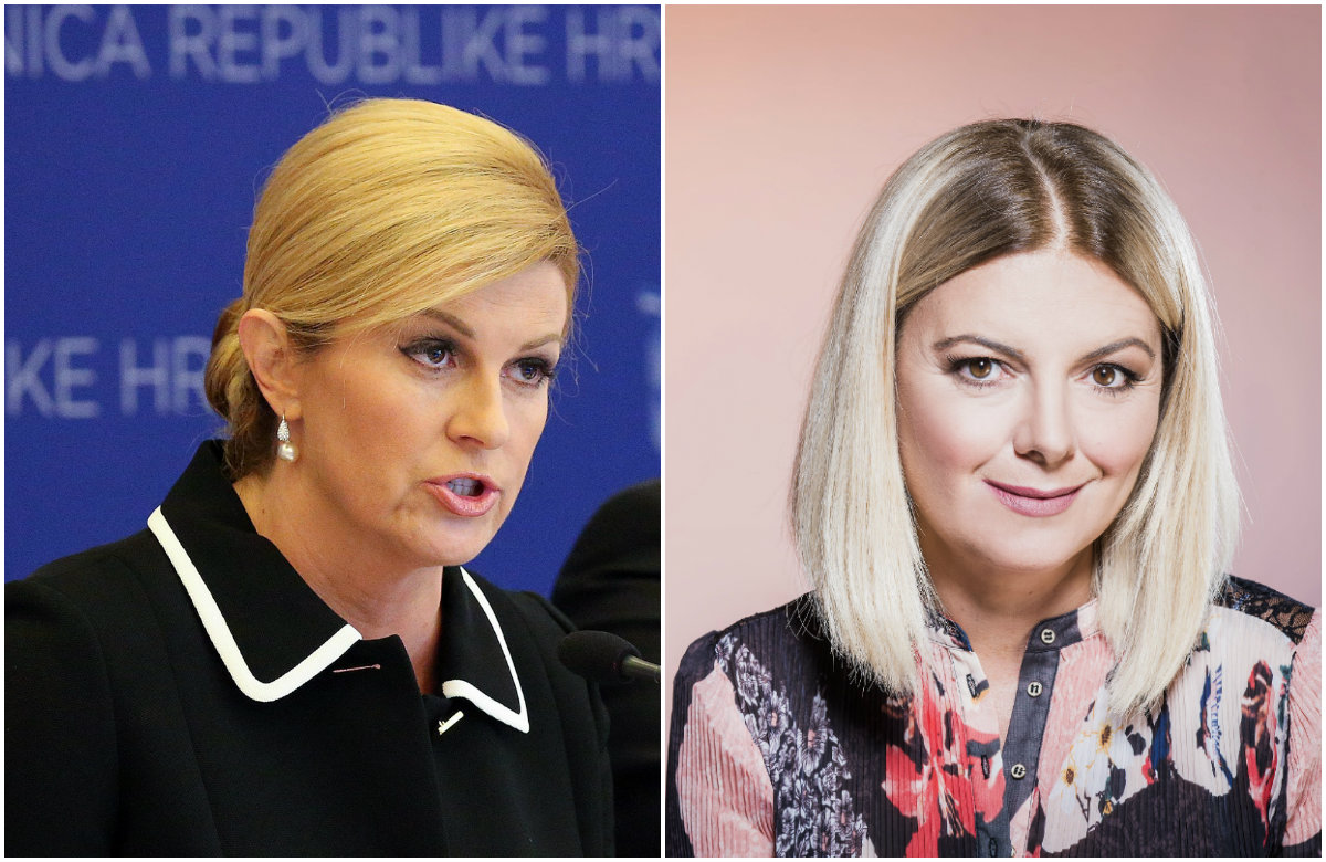 Kolinda Grabar-Kitarović, Mirjana Hrga