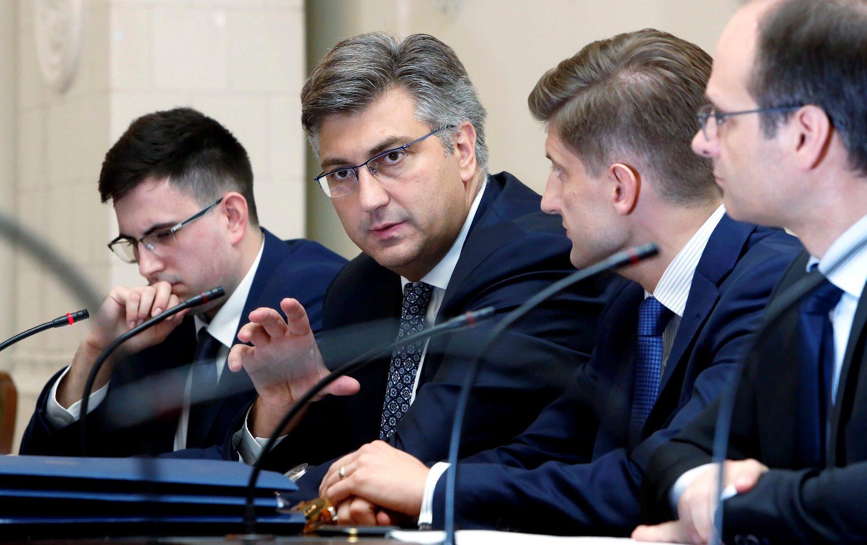 Premijer Andrej Plenković i ministar financija Zdravko Marić