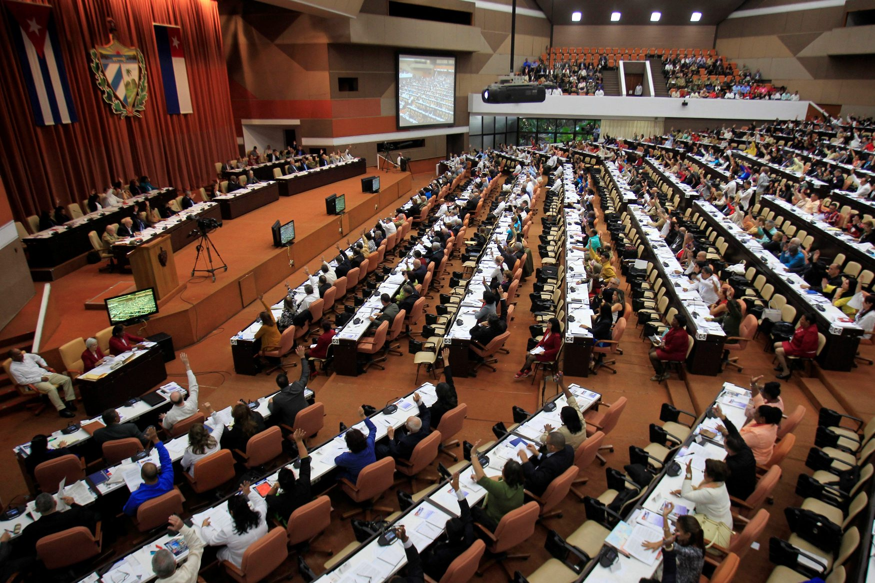 Zasjedanje kubanskog parlamenta