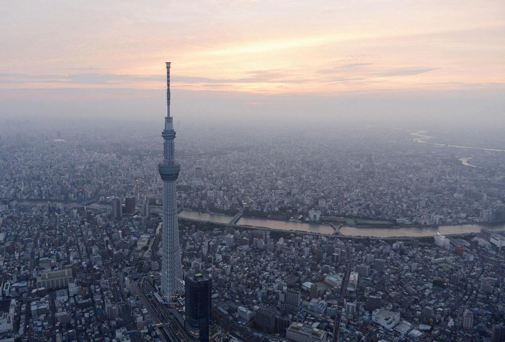 Panorama Tokija