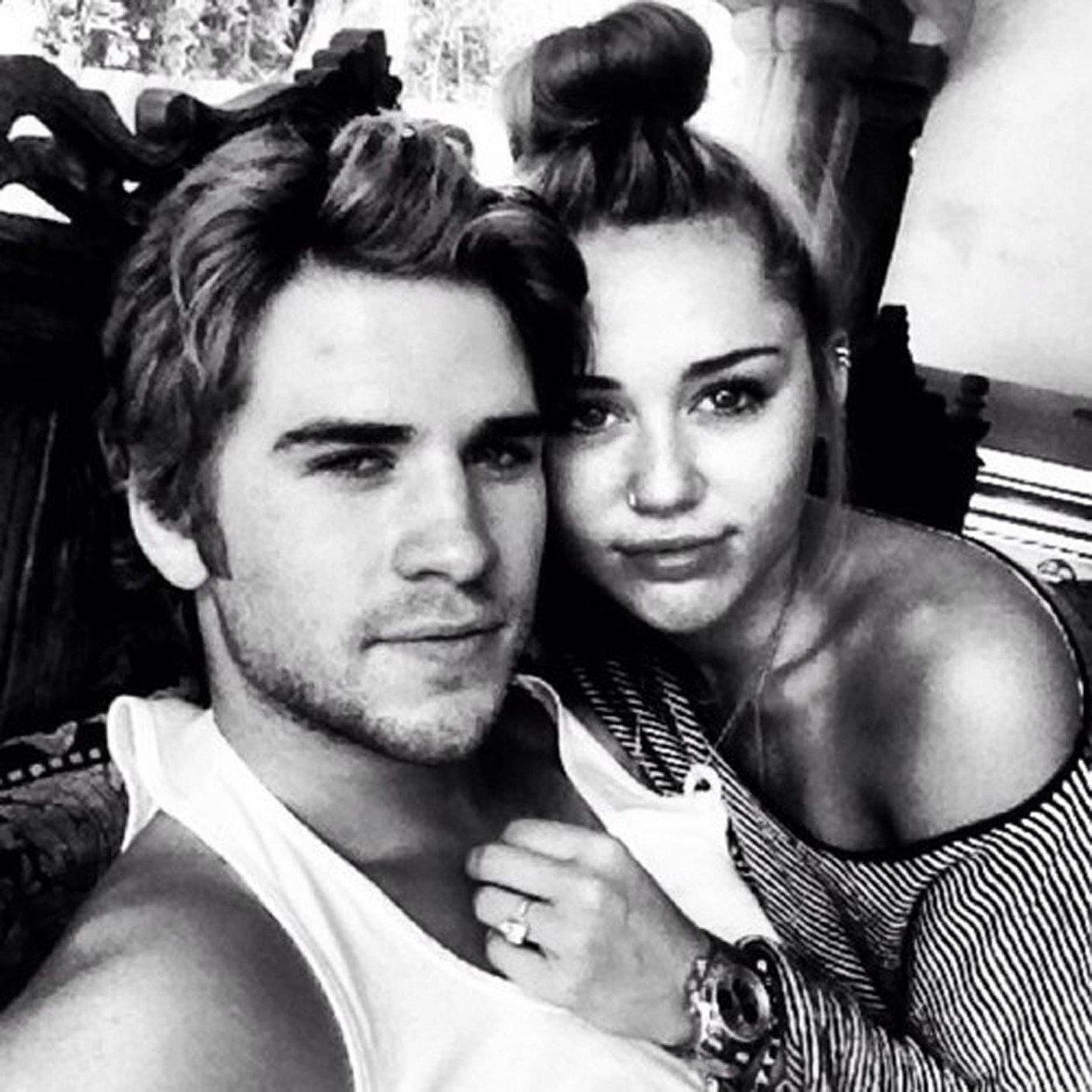 Miley i Liam u srpnju 2012.