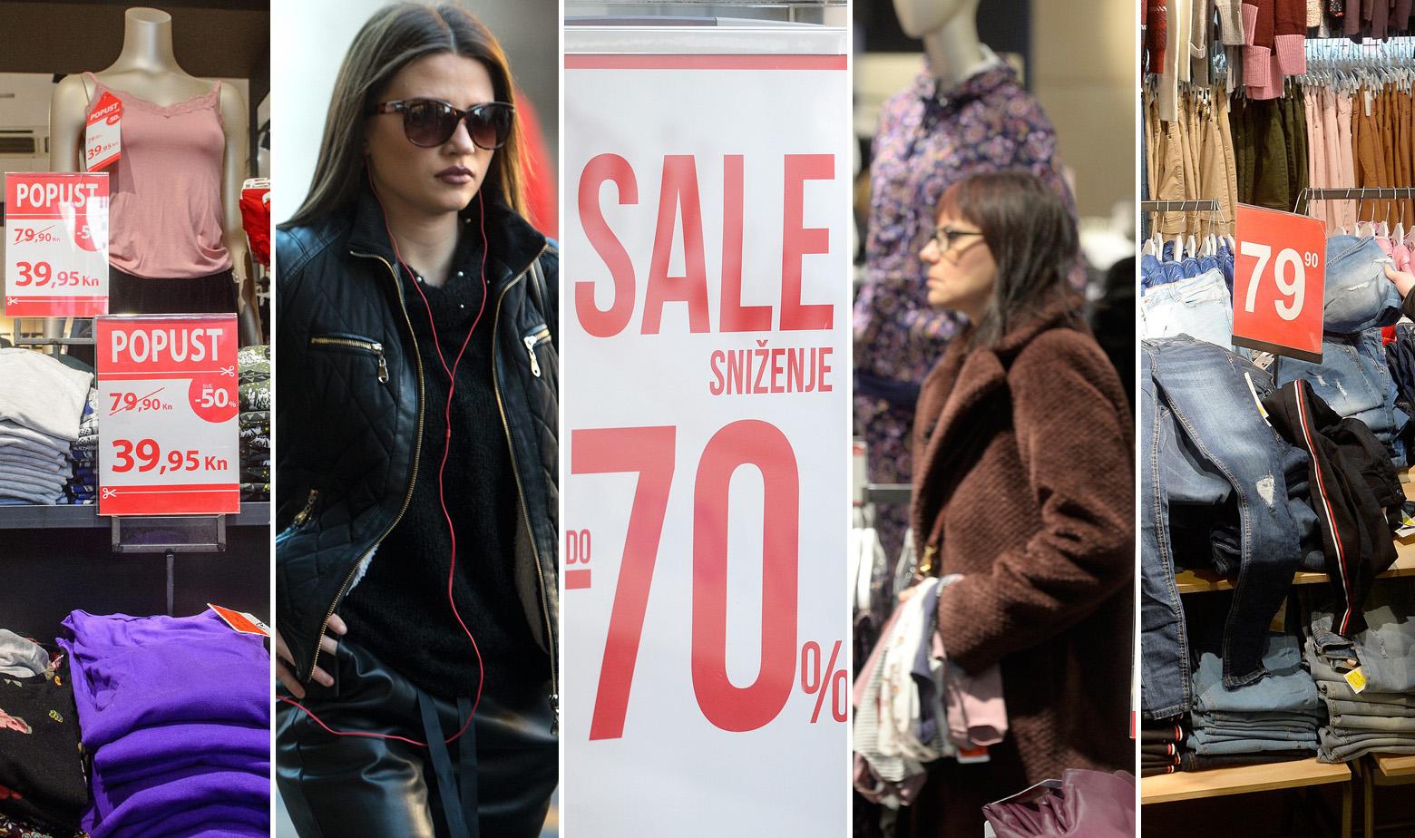 Novac Pocela Su Zimska Snizenja U Omiljenim Trgovinama Brze Mode Ocekuju Nas Popusti I Do 70