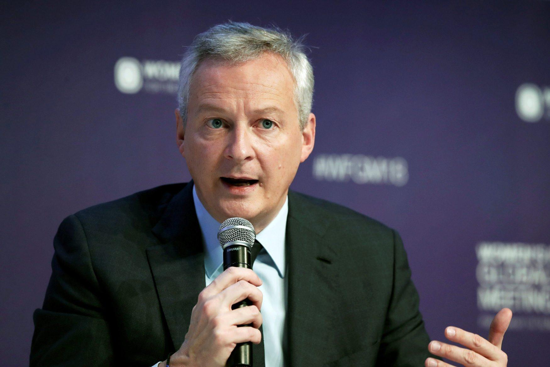Francuski ministar Bruno Le Maire