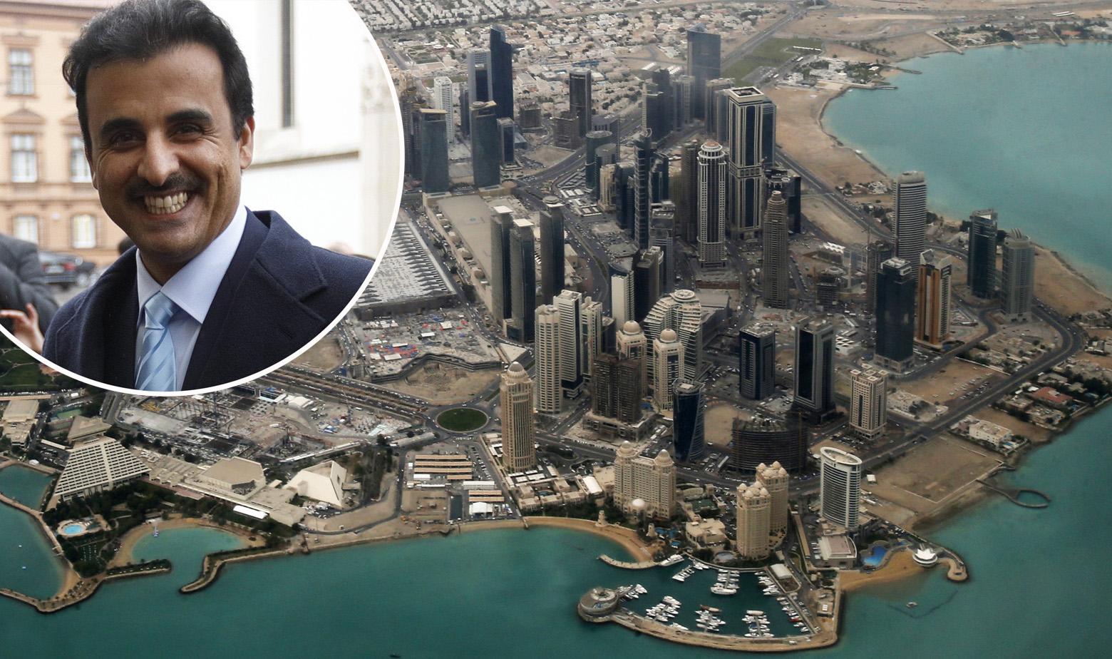 Doha i katarski emir Al-Thani