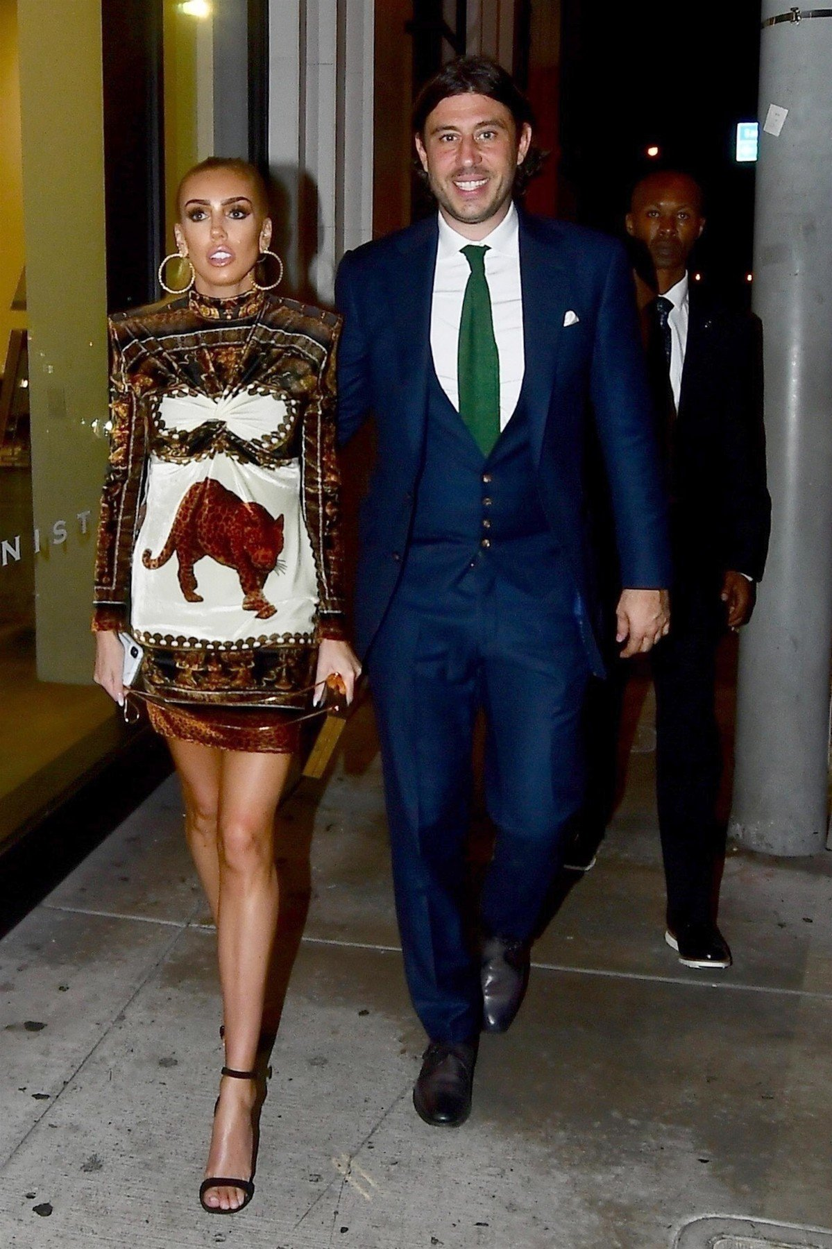 West Hollywood, CA  - Petra Ecclestone and Sam Palmer arrive together at LA hot spot Catch LA for a gallery opening.  Pictured: Petra Egglestone, Sam Palmer  BACKGRID USA 11 OCTOBER 2018, Image: 390866276, License: Rights-managed, Restrictions: , Model Release: no, Credit line: Profimedia, AKM-GSI