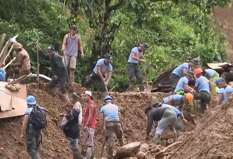 Odron tla na Filipinima nakon tajfuna