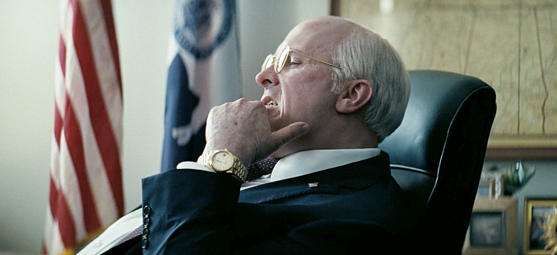 Christian Bale kao Dick Cheney