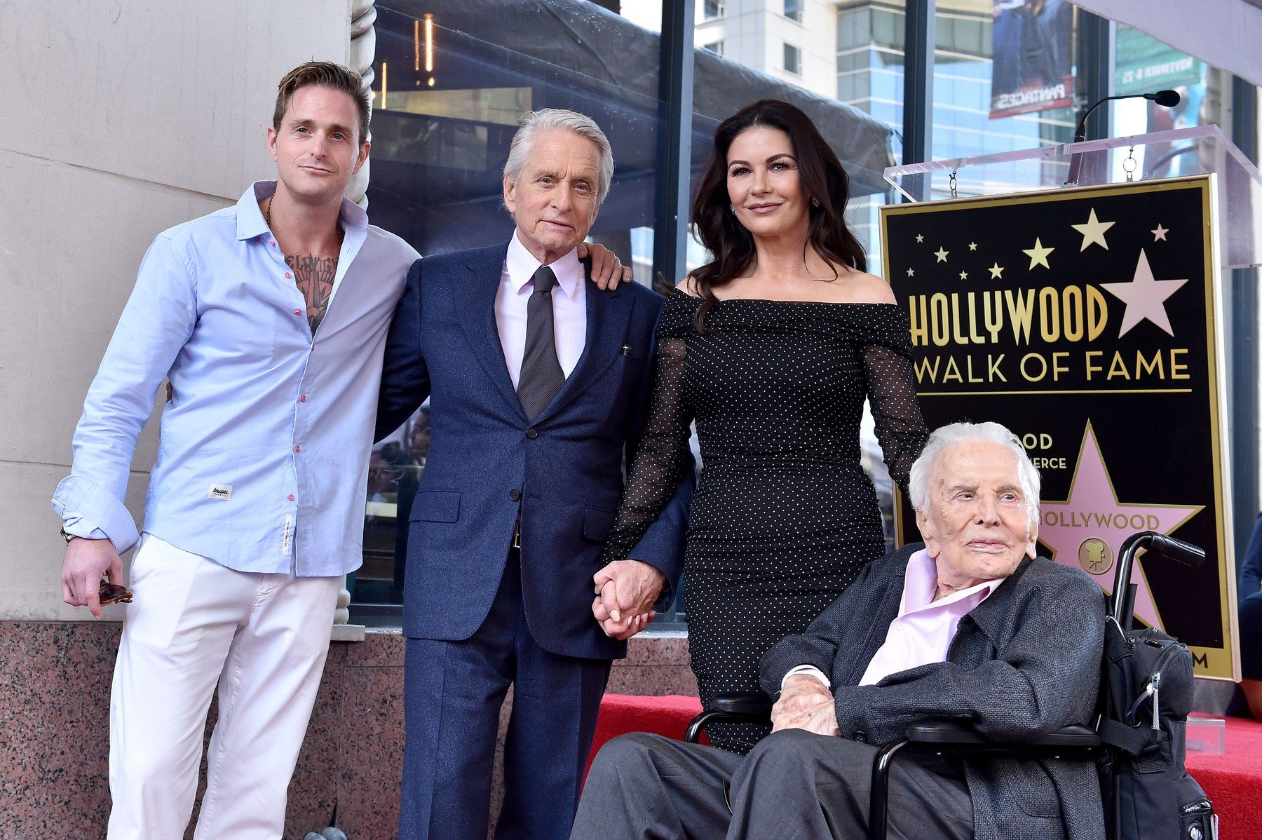 Michael Douglas honored with star on the Hollywood Walk of Fame. Hollywood, California. 06 Nov 2018, Image: 394431715, License: Rights-managed, Restrictions: World Rights, Model Release: no, Credit line: Profimedia, Mega Agency