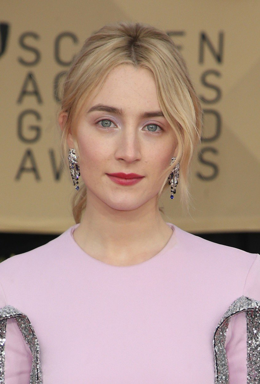 21 January 2018 - Los Angeles, California - Saoirse Ronan. 24th Annual Screen Actors Guild Awards held at The Shrine Auditorium. Photo, Image: 361002215, License: Rights-managed, Restrictions: , Model Release: no, Credit line: Profimedia, Insight Media