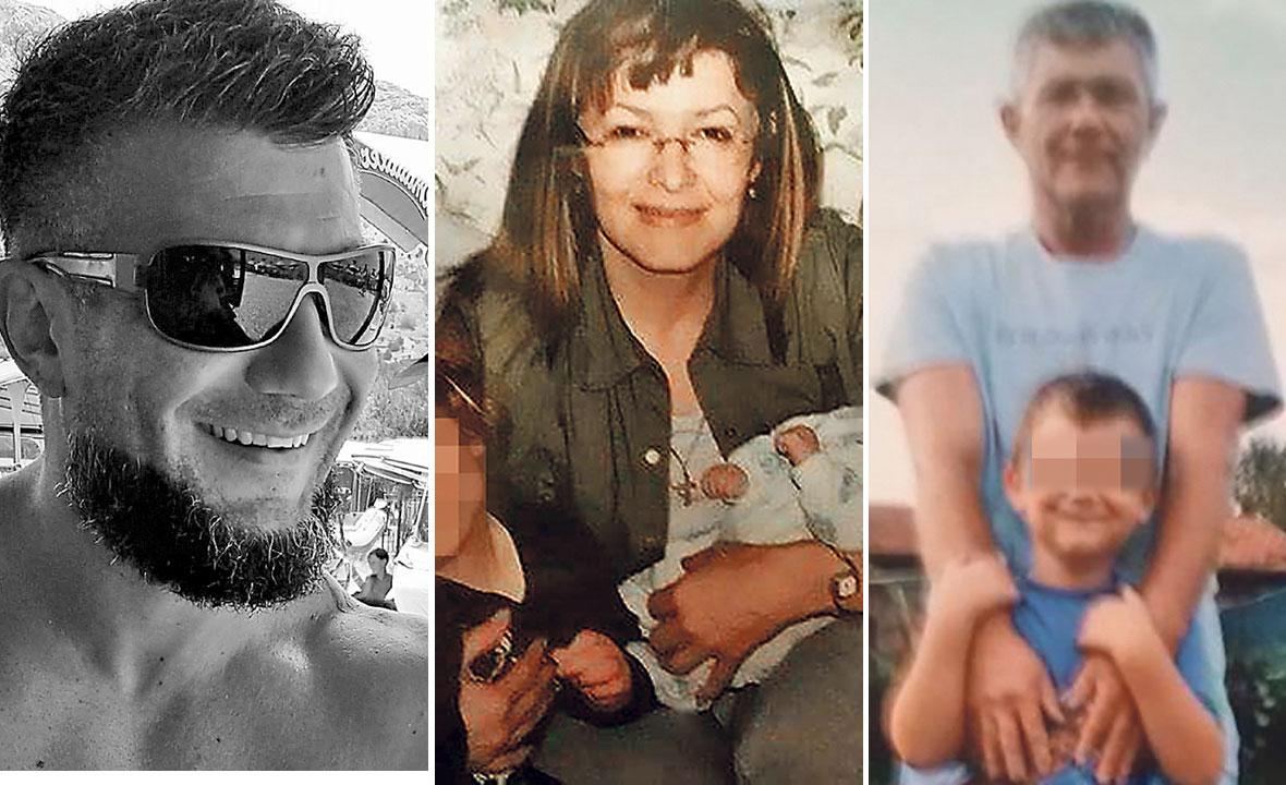 Shrvana Slavica Vujčić (na slici u sredini), majka ubijenog Sanjina (lijevo), ispričala nam je što je nagnalo njezina supruga (desno) da digne ruku na sina