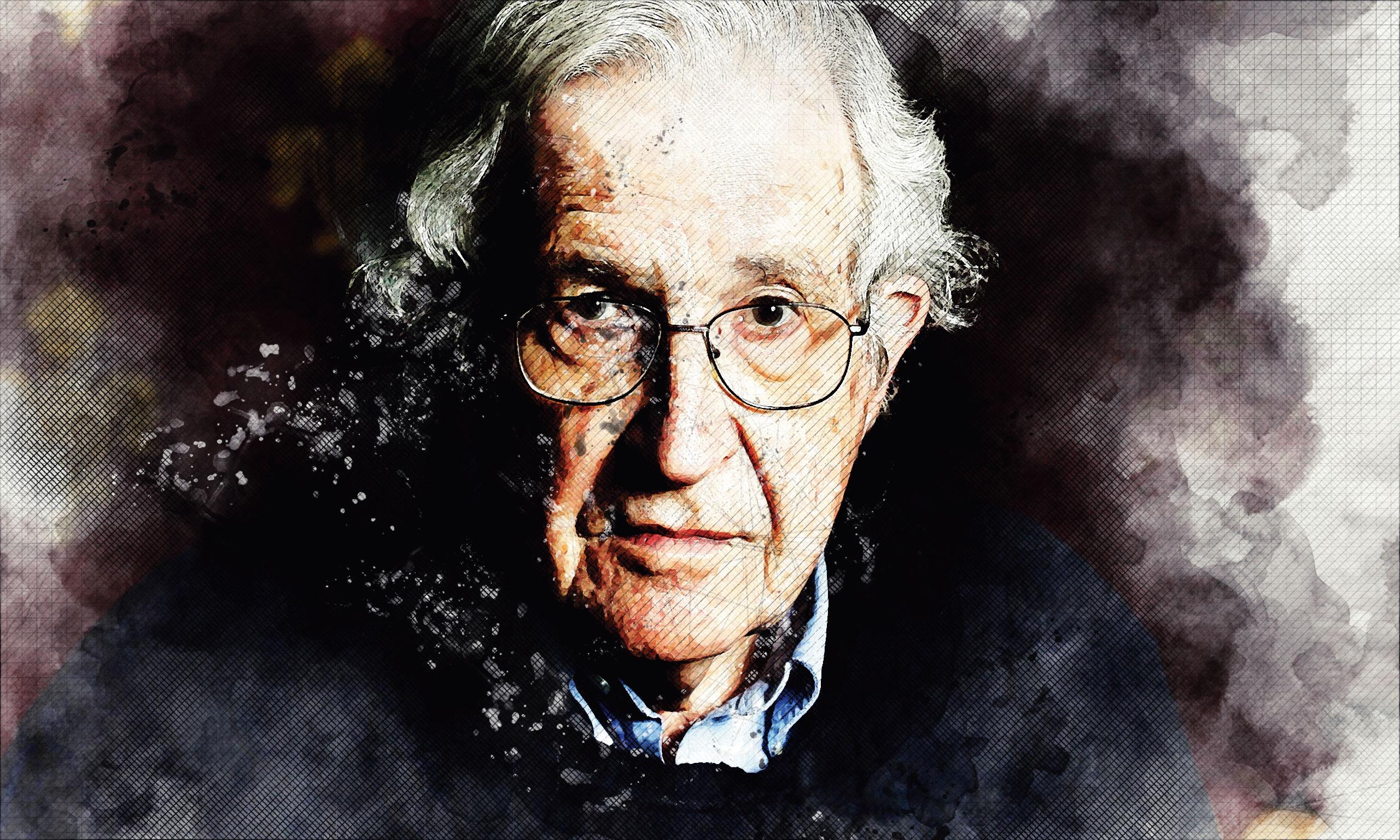 Noam Chomsky smatra da su upravo antife u SAD-u najveći saveznici Donalda Trumpa jer su radništvo gurnuli na njegovu stranu, dok se oni bore za LGBT-prava i prava feministica