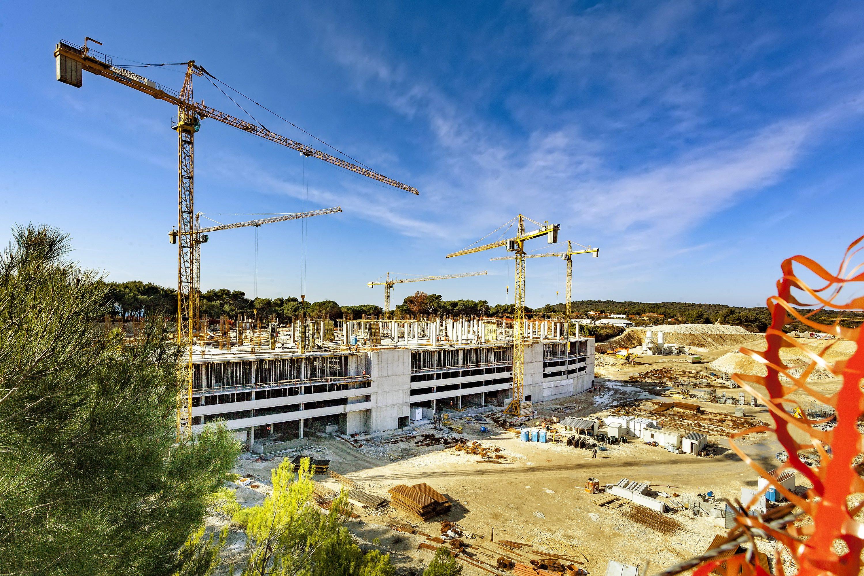 Pula, 140218. Izgradnja Centar Max Stoja. Foto: Srecko Niketic / CROPIX;