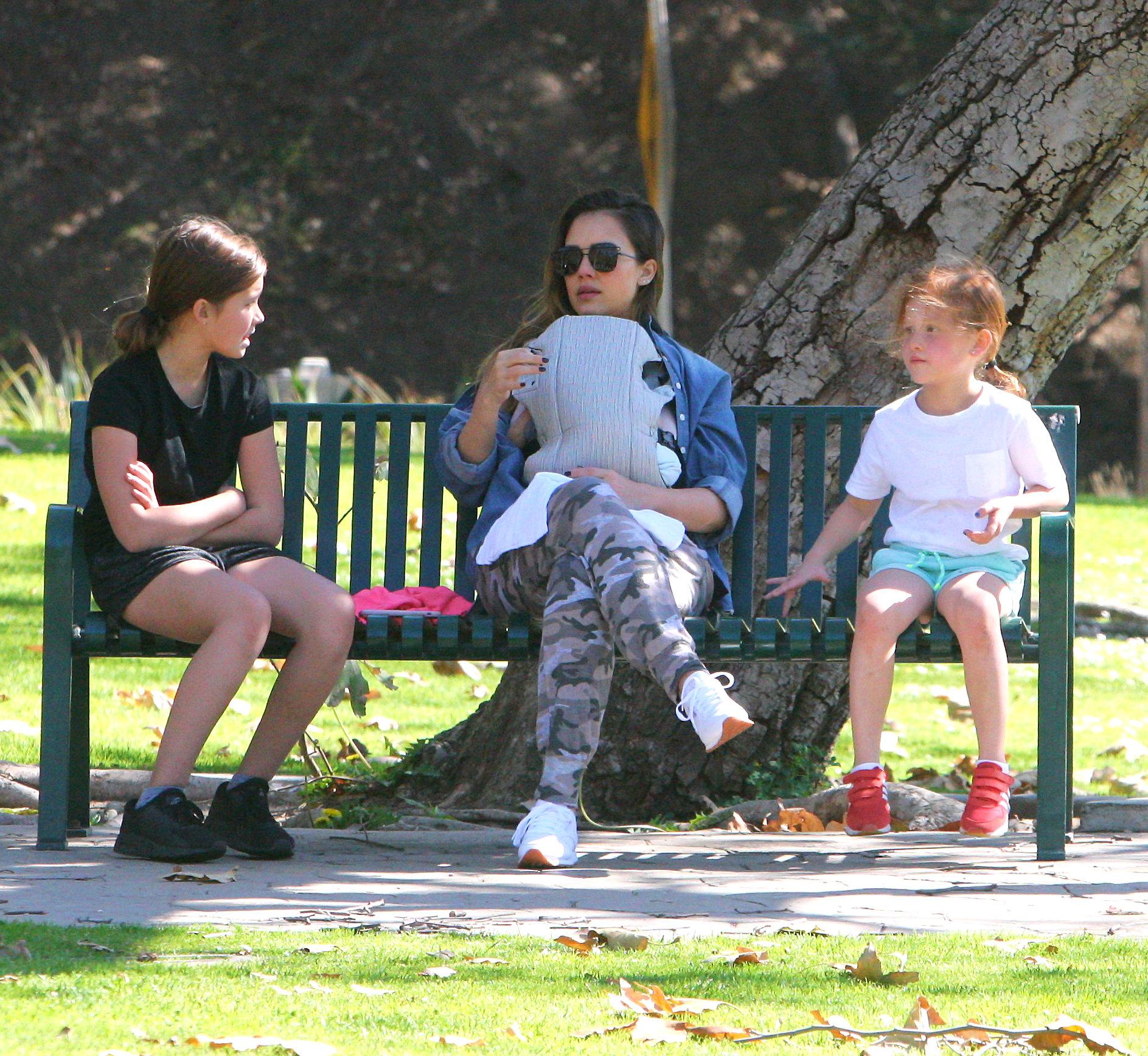 Jessica Alba s djecom