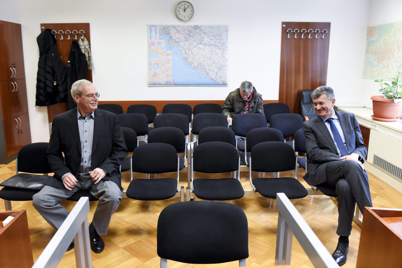 Andrija Hebrang i Milan Kujundžić.