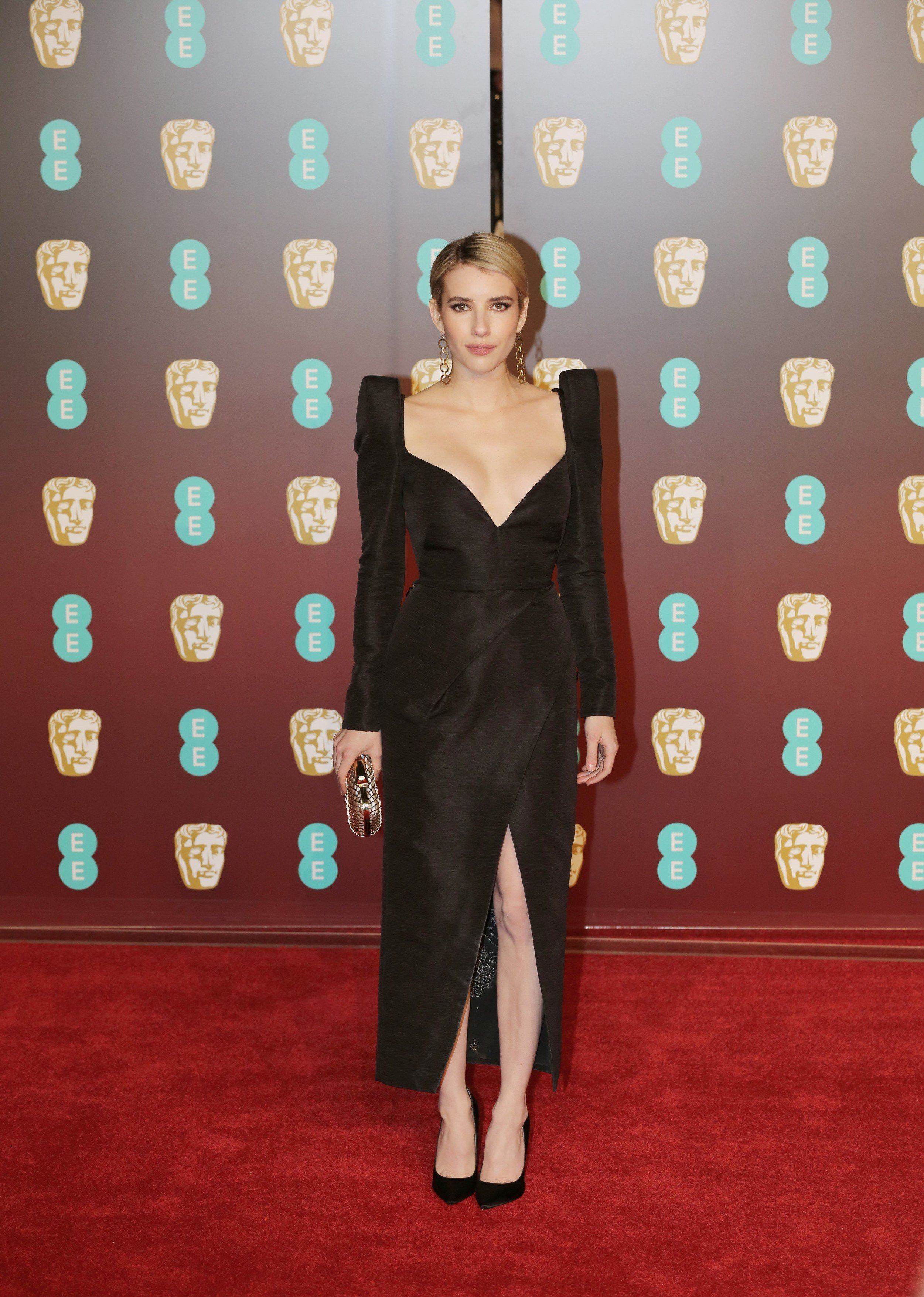 LONDON, ENGLAND - FEBRUARY 18: Emma Roberts attends the EE British Academy Film Awards (BAFTAs) held at Royal Albert Hall on February 18, 2018 in London, England. Yunus Dalgıç / Anadolu Agency, Image: 363641794, License: Rights-managed, Restrictions: , Model Release: no, Credit line: Profimedia, Abaca