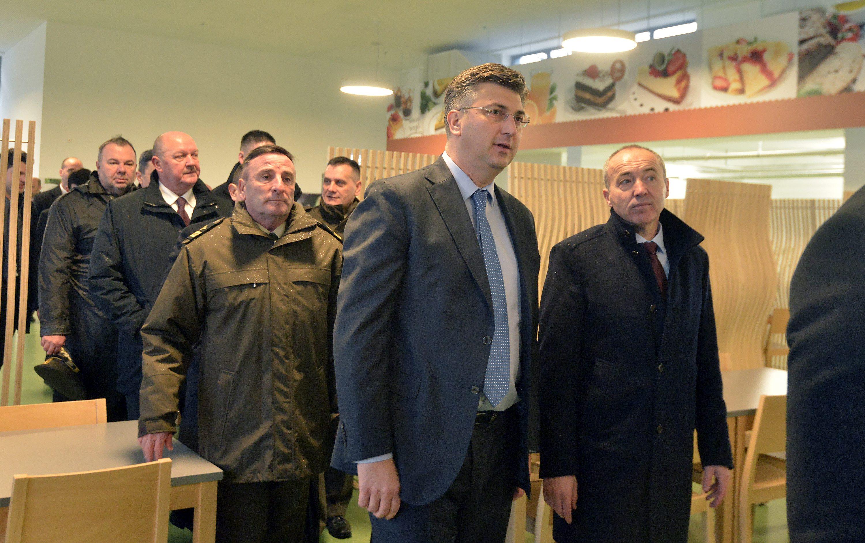 Miro Šundov, Andrej Plenković i Damir Krstičević