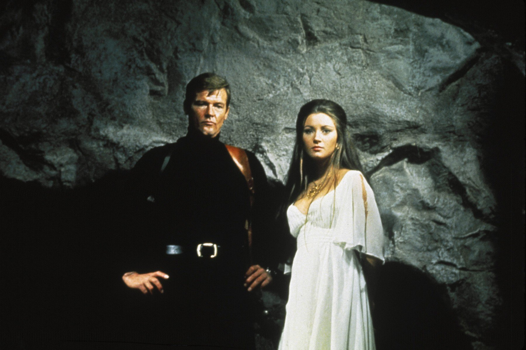 Roger Moore i Jane Seymour u filmu 'Live and Let Die'