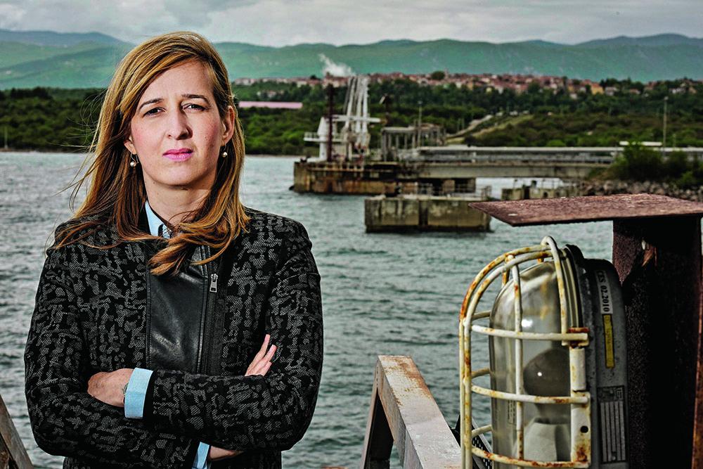 Načelnica Omišlja Marina Ahmetović