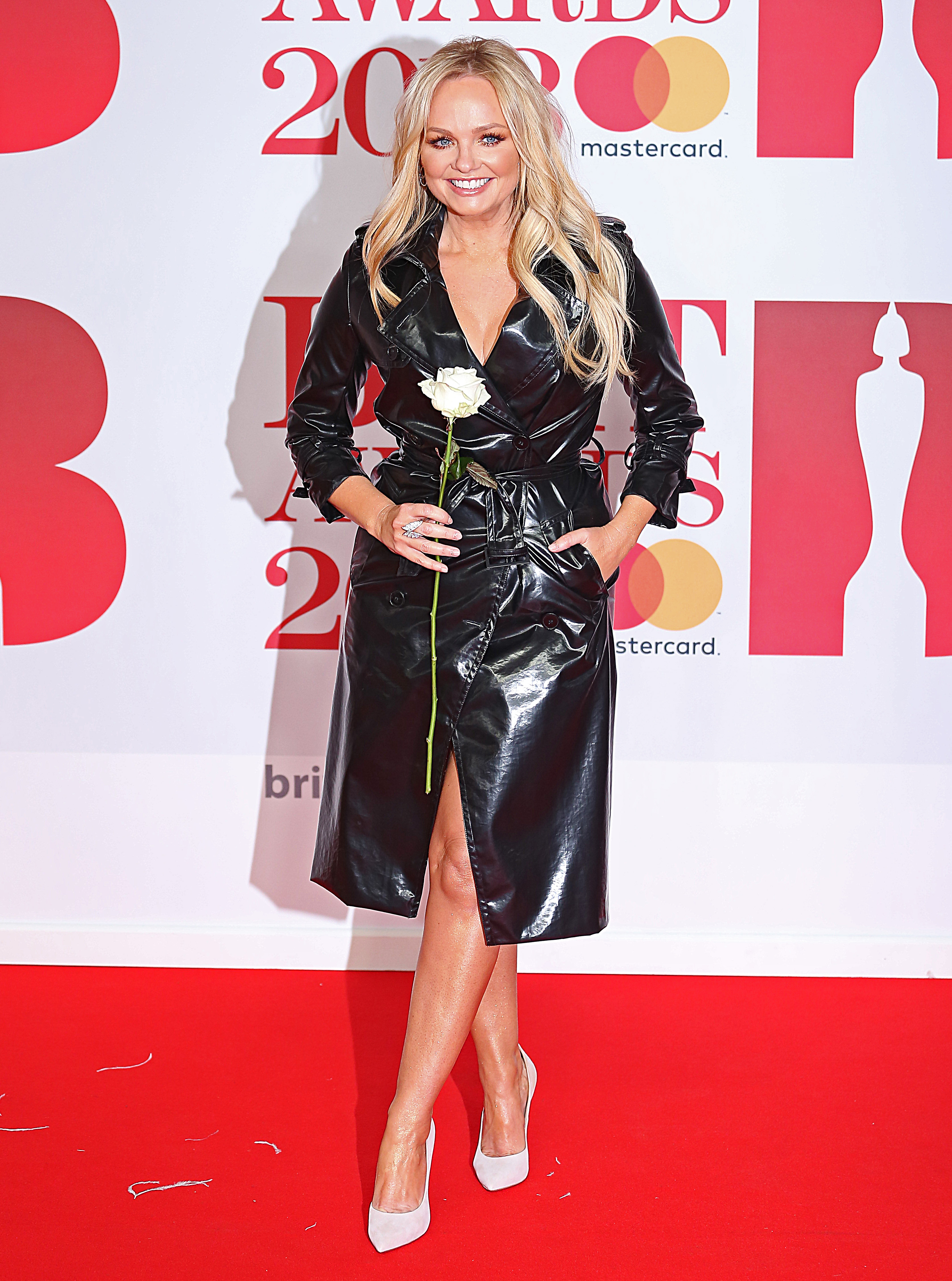 The BRIT Awards 2018, 02 Arena, London UK, 21 February 2018, Photo by Brett D. Cove <P> Pictured: v <B>Ref: SPL1662674  220218  </B><BR/> Picture by: Brett D. Cove / Splash News<BR/> </P><P> <B>Splash News and Pictures</B><BR/> Los Angeles:	310-821-2666<BR/> New York:	212-619-2666<BR/> London:	870-934-2666<BR/> <span id=