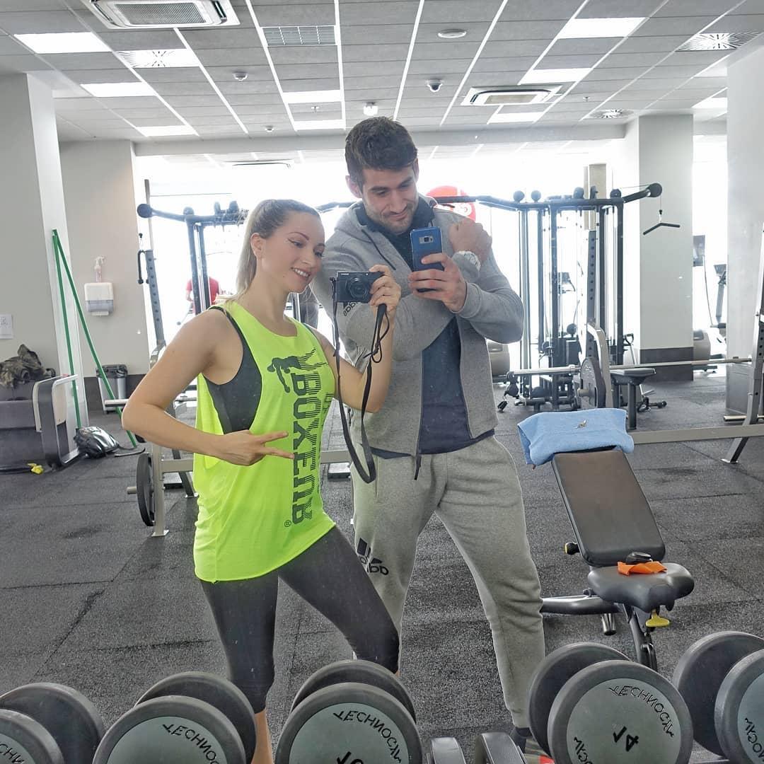 Pamela Ramljak trenira uz privatnog trenera