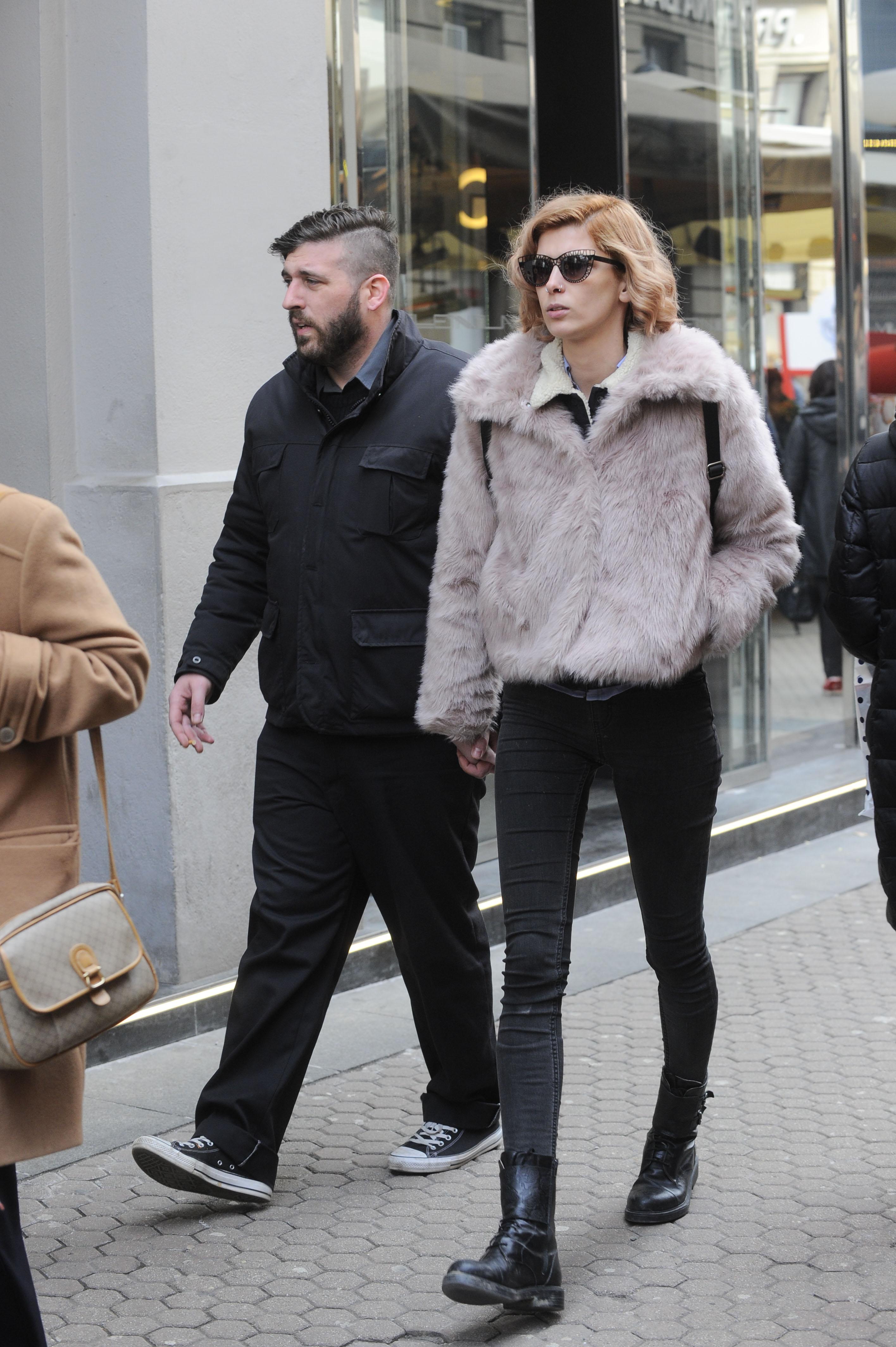 Spica / Zagreb 17.02.2018. / foto: Maja Jurovic / Kristina Salinovic i decko Enrico Migliorati