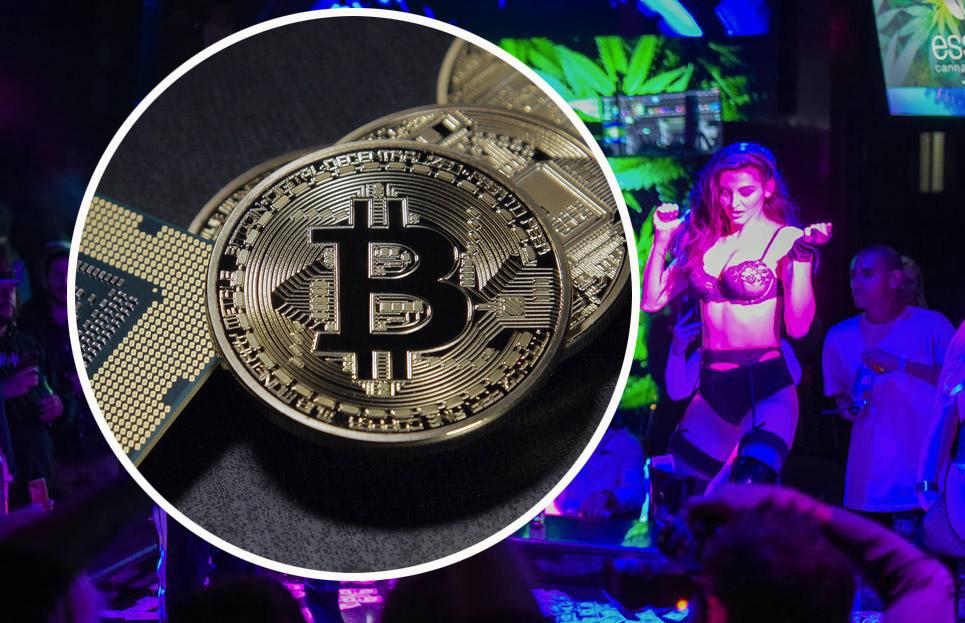 bitcoin striptiz