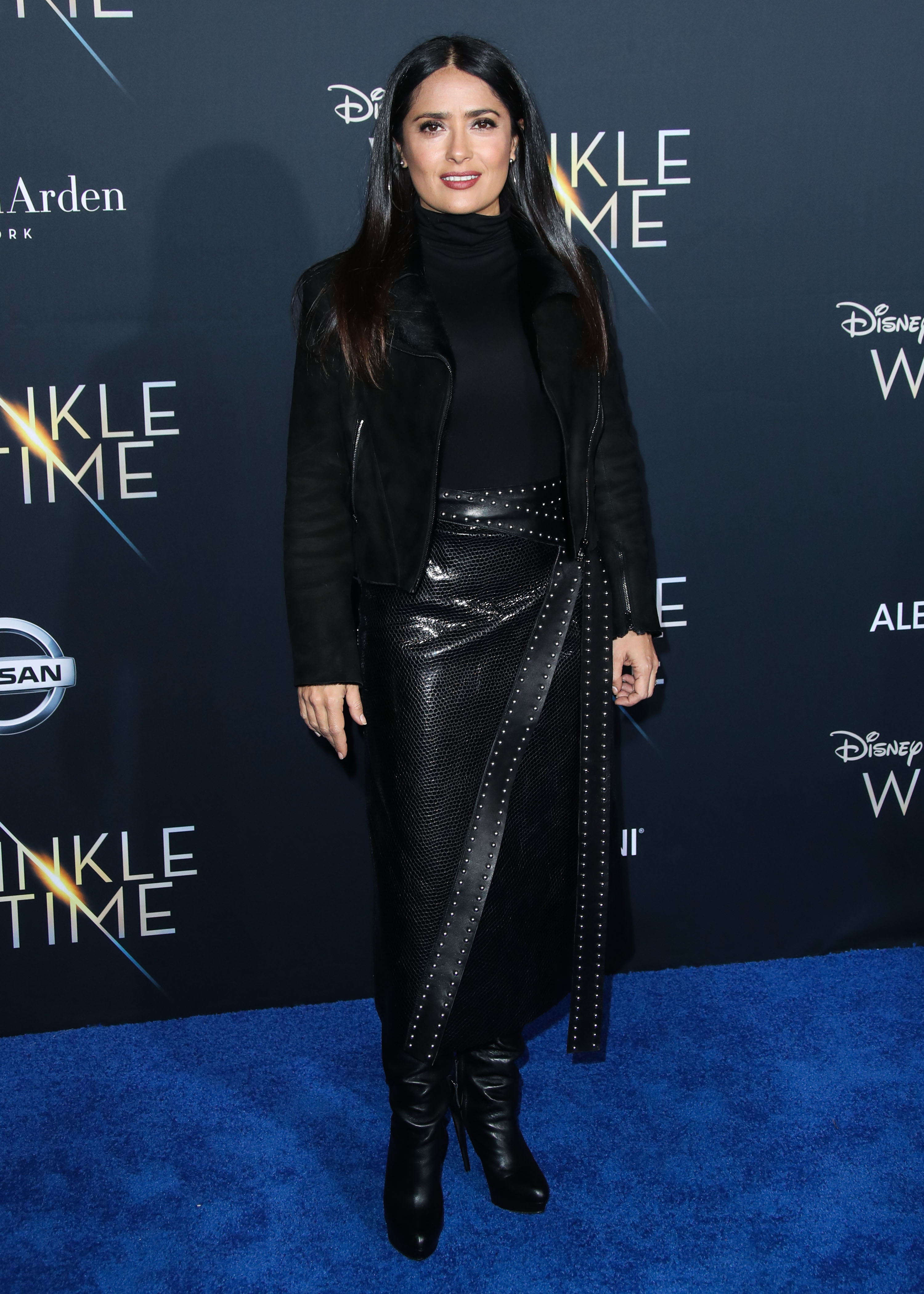HOLLYWOOD, LOS ANGELES, CA, USA - FEBRUARY 26: World Premiere Of Disney's 'A Wrinkle In Time' held at the El Capitan Theatre on February 26, 2018 in Hollywood, Los Angeles, California, United States. (Photo by Xavier Collin/Image Press Agency/Splash News) <P> Pictured: Salma Hayek <B>Ref: SPL1664659  260218  </B><BR/> Picture by: Xavier Collin/IPA/Splash News<BR/> </P><P> <B>Splash News and Pictures</B><BR/> Los Angeles:310-821-2666<BR/> New York:212-619-2666<BR/> London:870-934-2666<BR/> <span id=