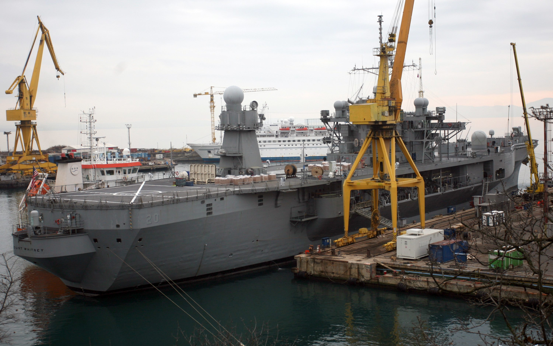 USS Mount Whitney na remontu u brodogradilištu Viktor Lenac