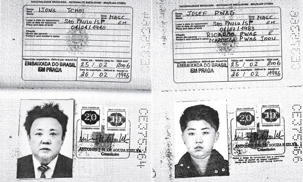 Kim Jong Il i Kim Jong Un