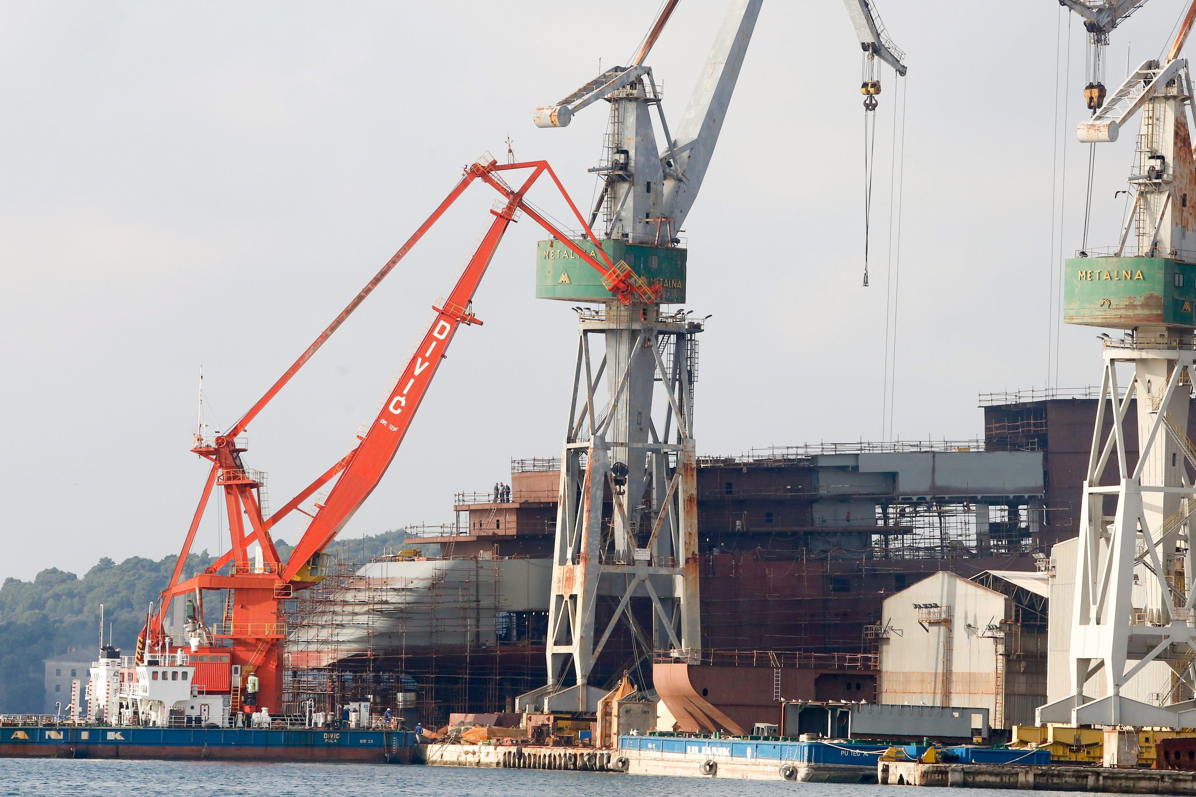 Brodogradilište Uljanik u Puli