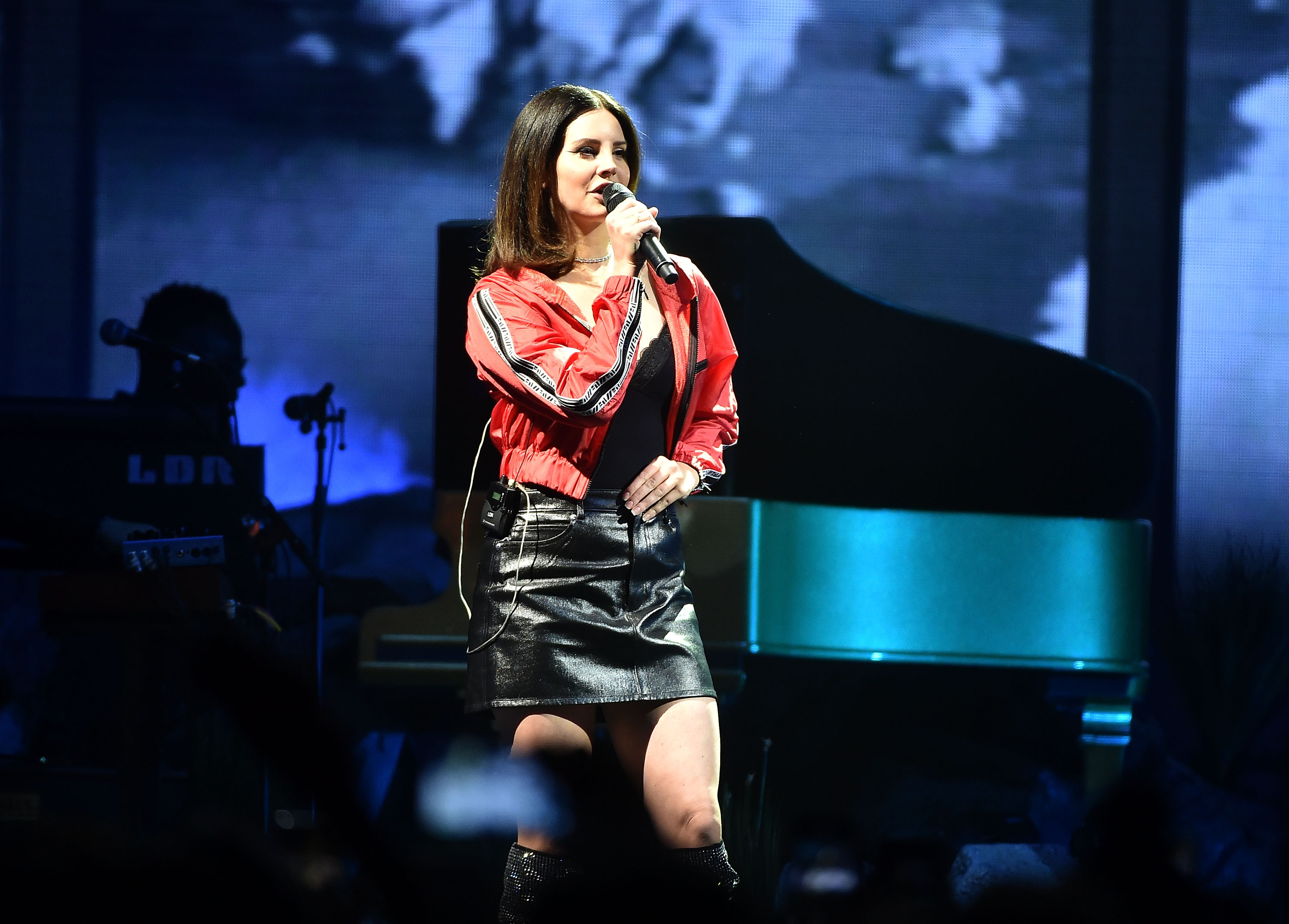 NEWARK, NJ - JANUARY 19:  Lana Del Rey In Concert at Prudential Center on January 19, 2018 in Newark, New Jersey.  (Photo by Theo Wargo/Getty Images)
