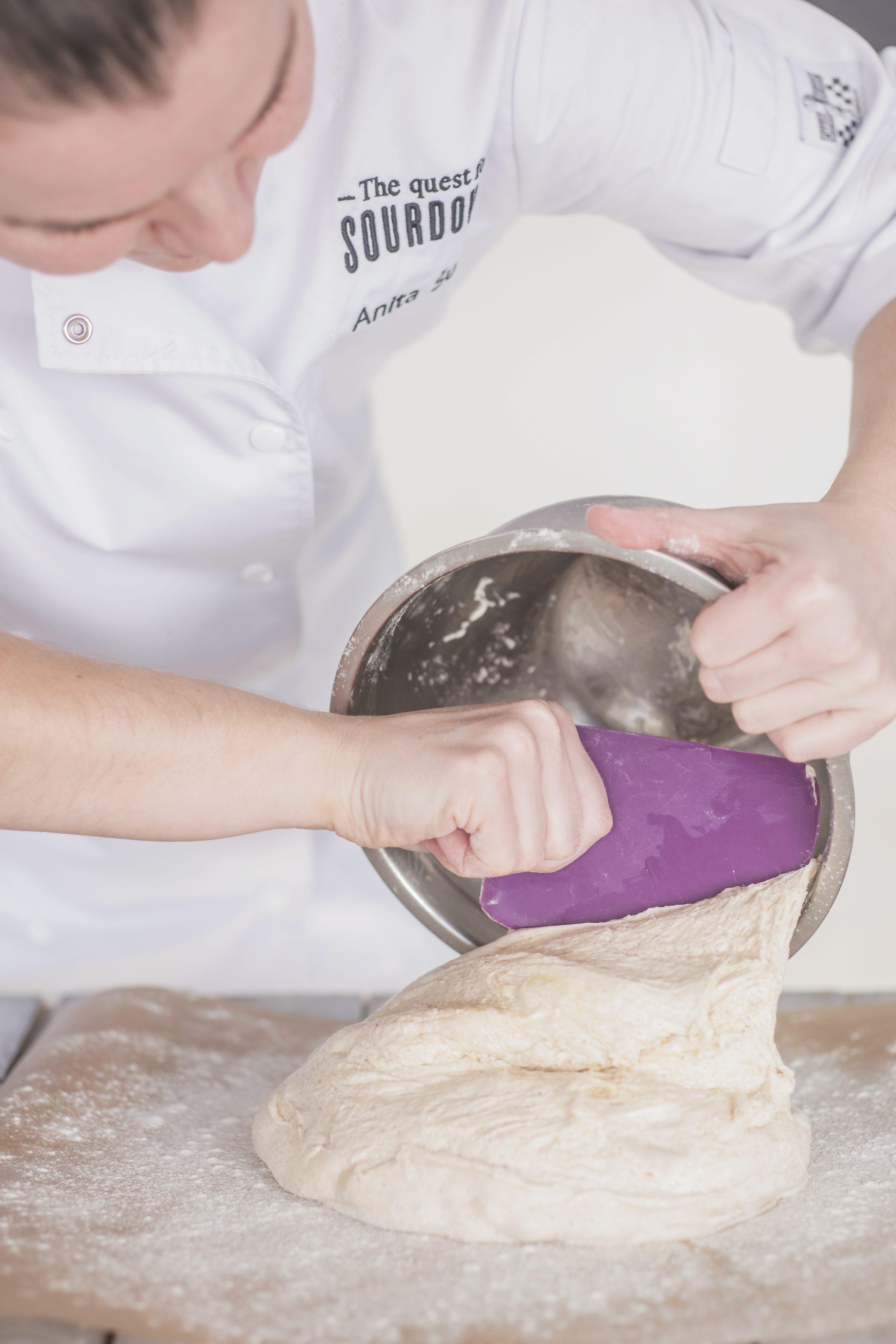 Slovenj Gradec, 240118.  Anita Sumer iz Slovenj Gradeca u Sloveniji uspjesna je pekarica i bavi se pekarskim proizvodima od kiselog tijesta. Foto: Neja Markicevic / CROPIX
