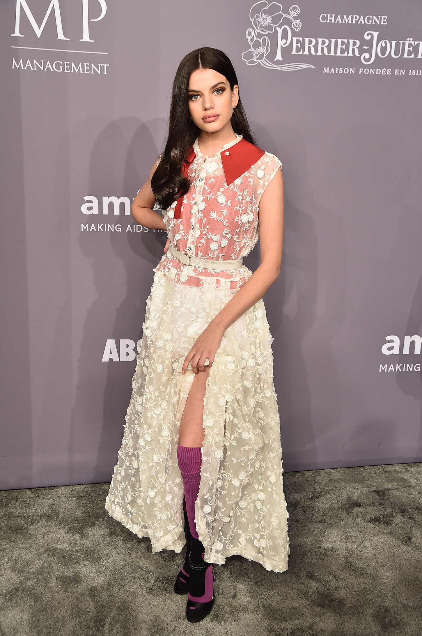 NEW YORK, NY - FEBRUARY 07:  Model Sonia Ben Ammar attends the 2018 amfAR Gala New York at Cipriani Wall Street on February 7, 2018 in New York City.  (Photo by Theo Wargo/Getty Images)