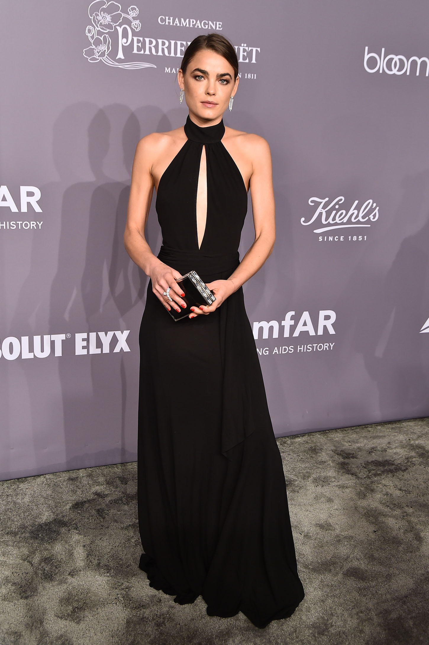 NEW YORK, NY - FEBRUARY 07:  Model Bambi Northwood-Blyth attends the 2018 amfAR Gala New York at Cipriani Wall Street on February 7, 2018 in New York City.  (Photo by Theo Wargo/Getty Images)