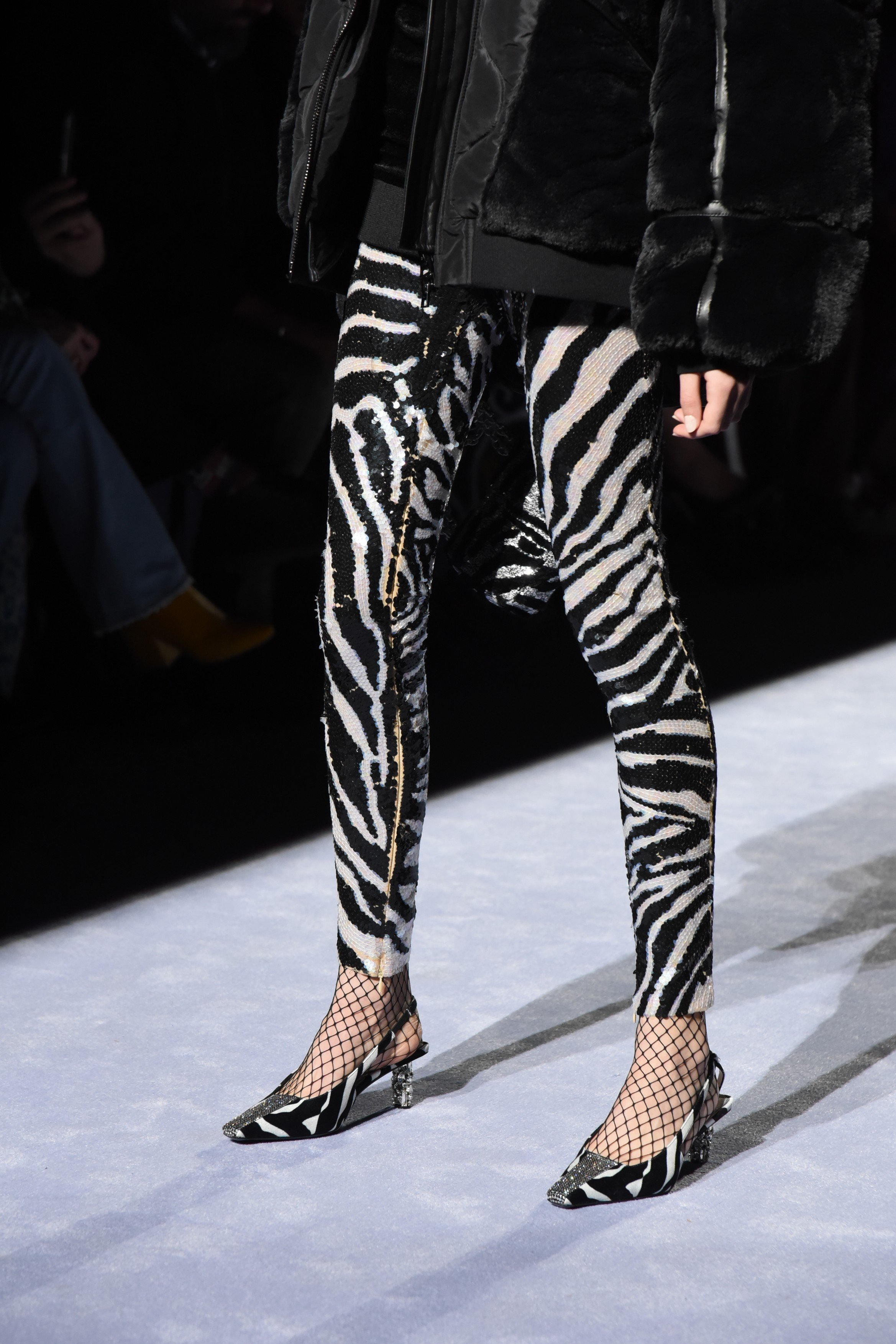 Model attends Tom Ford Womens - Runway Show FW18 on February 08, 2018 at Park Avenue Armory in New York, USA., Image: 362726335, License: Rights-managed, Restrictions: *** World Rights ***, Model Release: no, Credit line: Profimedia, SIPA USA