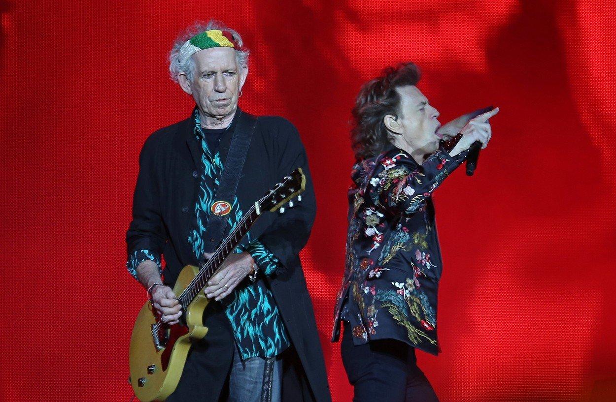 Keith Richards i Mick Jagger iz The Rolling Stonesa