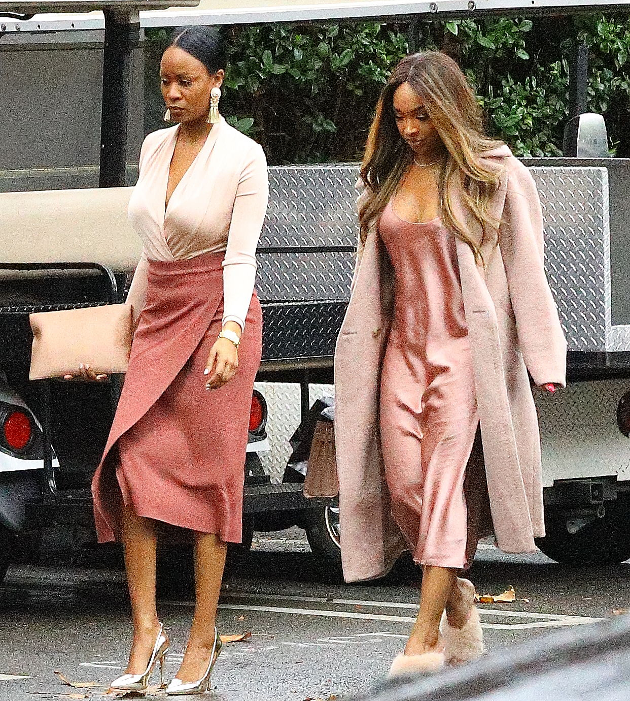 Malika and Maliyah hayk arrive to Khloe Kardashian baby shower in Los Angeles CA <P> Pictured: Malika and Maliyah hayk arrive to Khloe Kardashian baby shower in Los Angeles CA <B>Ref: SPL1669952  100318  </B><BR/> Picture by: Pap Nation / Splash News<BR/> </P><P> <B>Splash News and Pictures</B><BR/> Los Angeles:310-821-2666<BR/> New York:212-619-2666<BR/> London:870-934-2666<BR/> <span id=