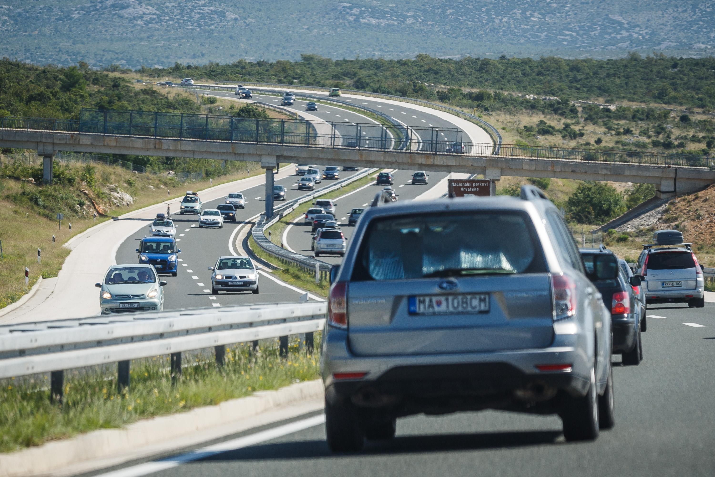 Autocesta A1 u okolici Zadra