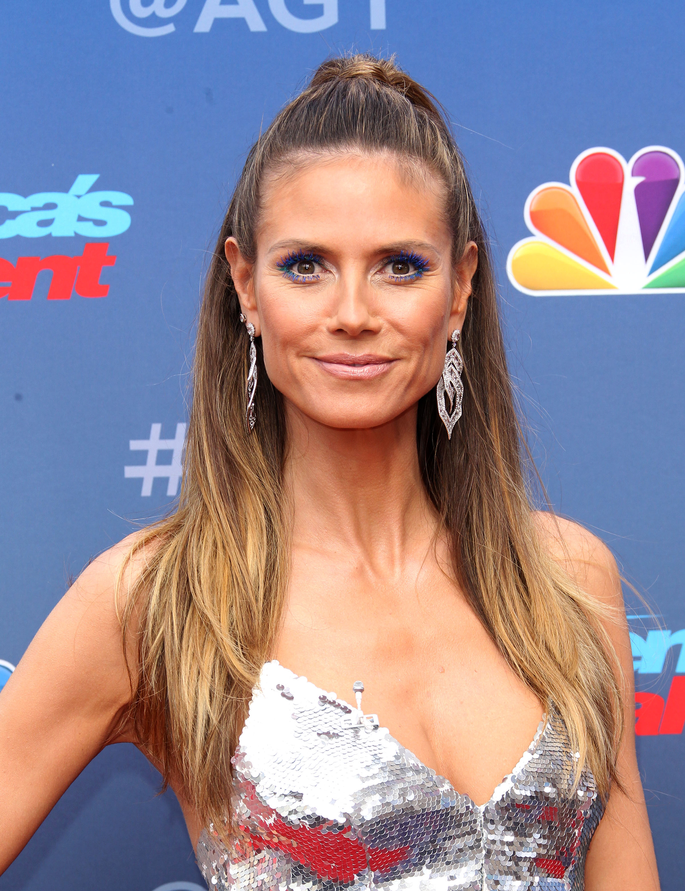 Season 13 America's Got Talent Kickoff - Pasadena <P> Pictured: Heidi Klum <B>Ref: SPL1670783  120318  </B><BR/> Picture by: Jen Lowery / Splash News<BR/> </P><P> <B>Splash News and Pictures</B><BR/> Los Angeles:310-821-2666<BR/> New York:212-619-2666<BR/> London:870-934-2666<BR/> <span id=