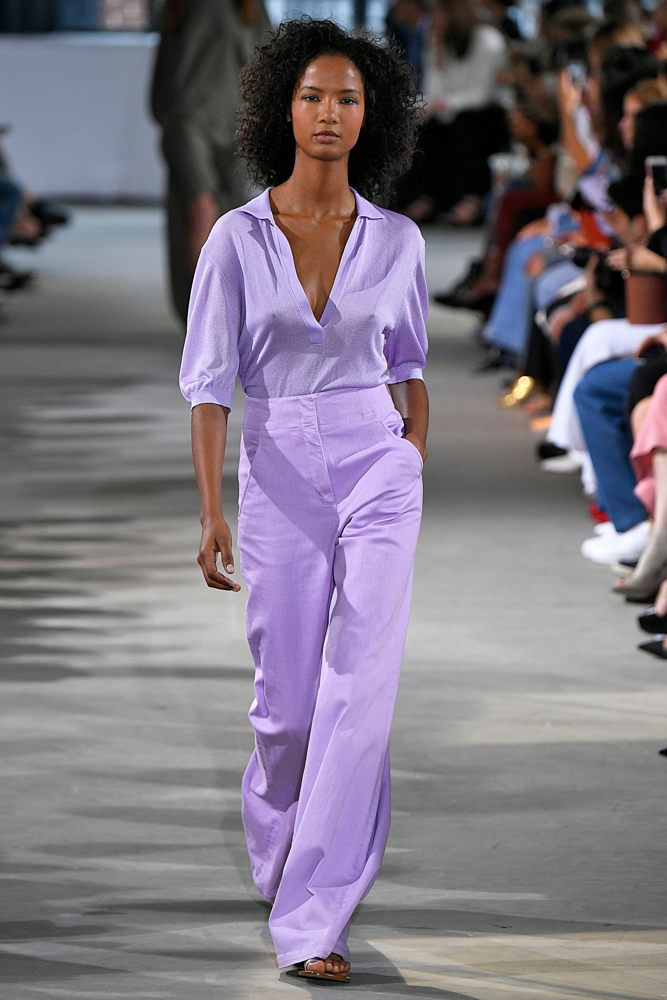 Ariela Soares walks on the runway during the Tibi Fashion show at New York Fashion Week Spring Summer 2018 held in New York, NY on September 9, 2017., Image: 348875545, License: Rights-managed, Restrictions: *** World Rights ***, Model Release: no, Credit line: Profimedia, SIPA USA