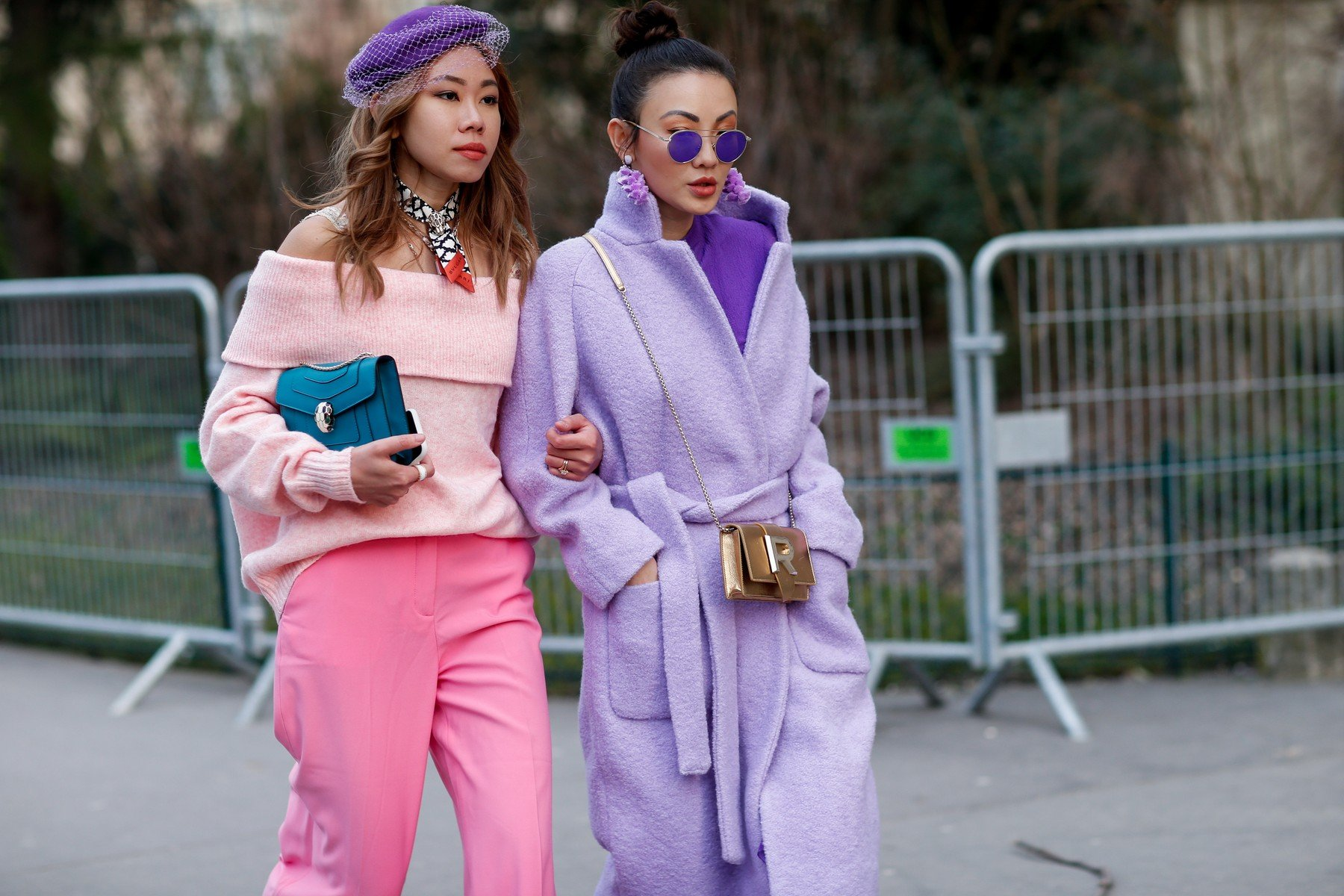 Street style, arriving at Rochas Fall-Winter 2018-2019 show held at Grand Palais in Paris, France, on February 28, 2018., Image: 364759968, License: Rights-managed, Restrictions: , Model Release: no, Credit line: Profimedia, Abaca