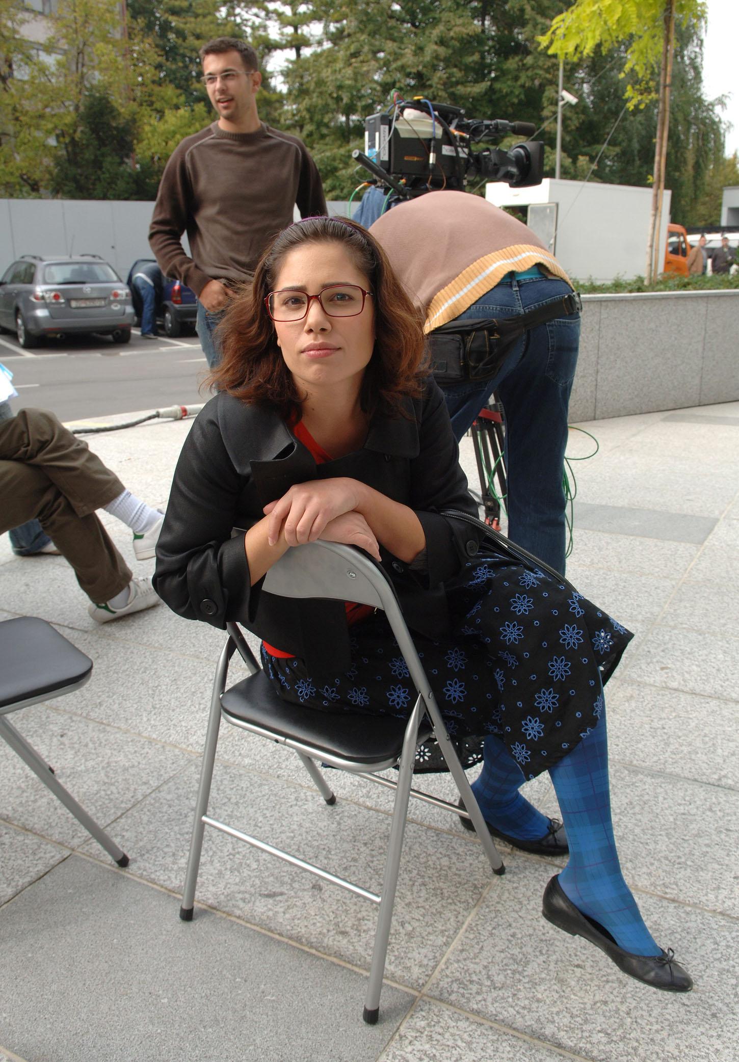 Zagreb, 121007.  Jadran film, Oporovecka.  U Jadran filmu,u studiju 2, je pocelo snimanje nove RTL-ove humoristicne tv serije